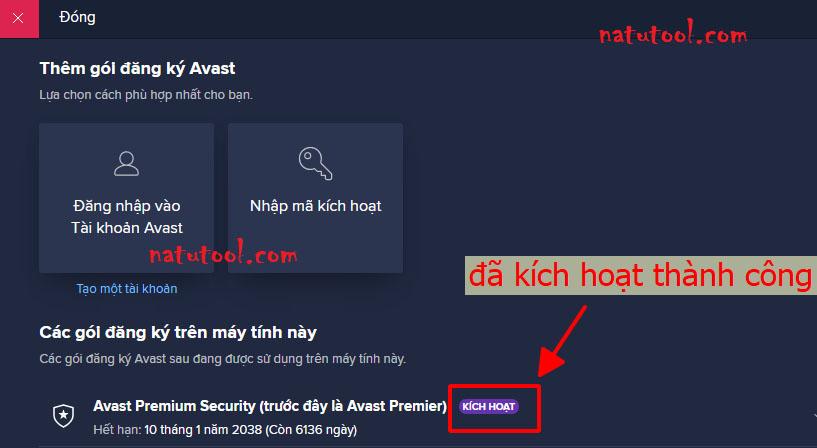 Key licence avast 2038 premier [03.12] Avast